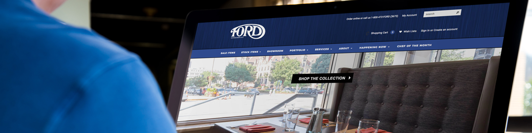 Ford Website Header